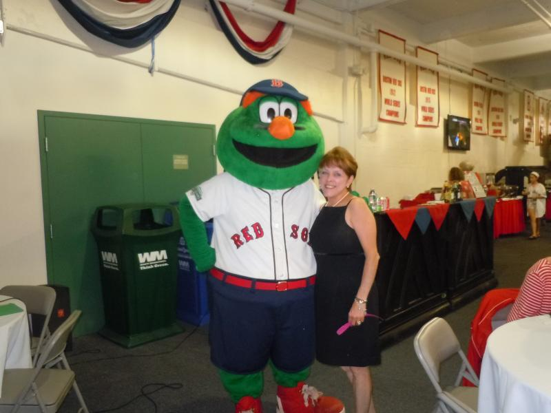 Me, with Wally The Green Monster