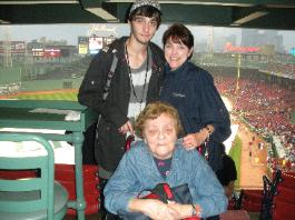 3 Generations; My Mom, me, and my son, Nick, on 6/12/2010